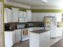 Finished kitchen