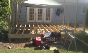 MB Deck in progress