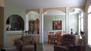 Arches & dining room