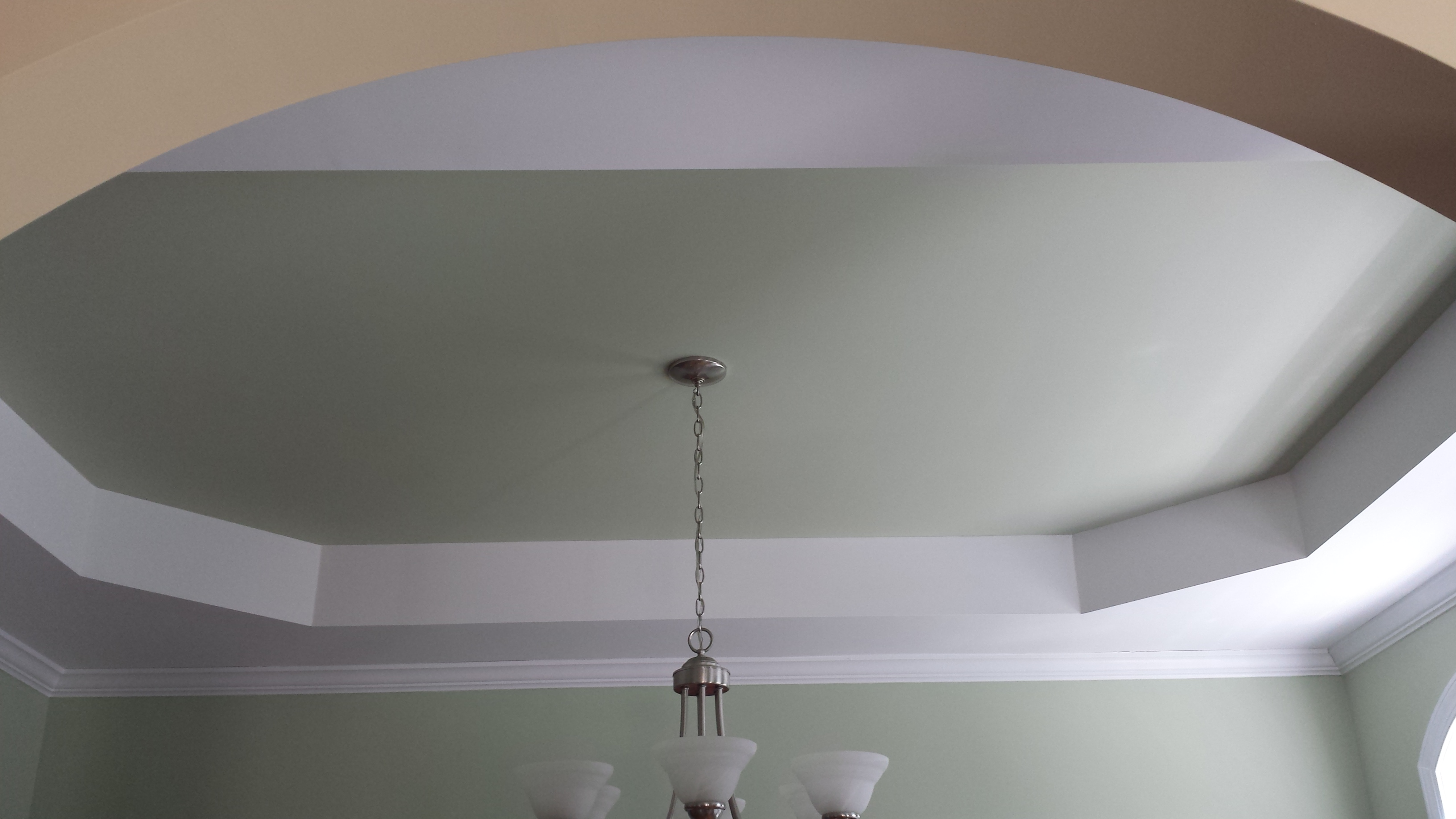 Interior painting Accent walls bold color
